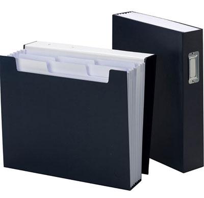 Smead-SuperTab-Bookshelf-Organizer